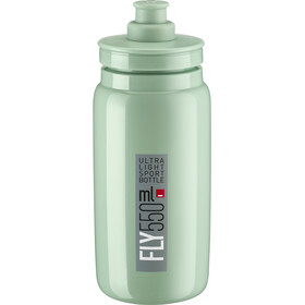 Elite Fly Trinkflasche 550ml green/grey logo